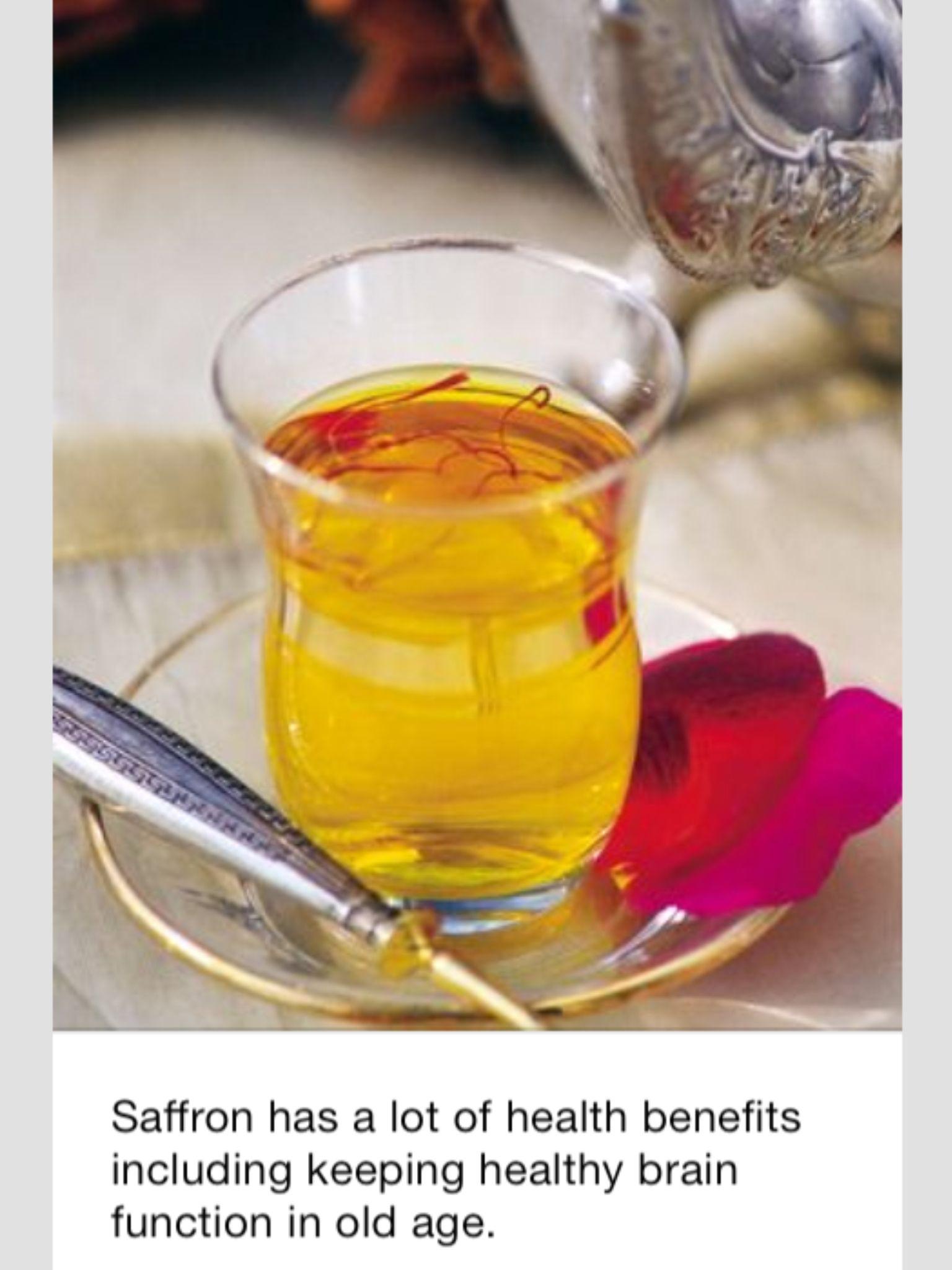 benefit of saffron tea | saffron tea, saffron benefits, saffron