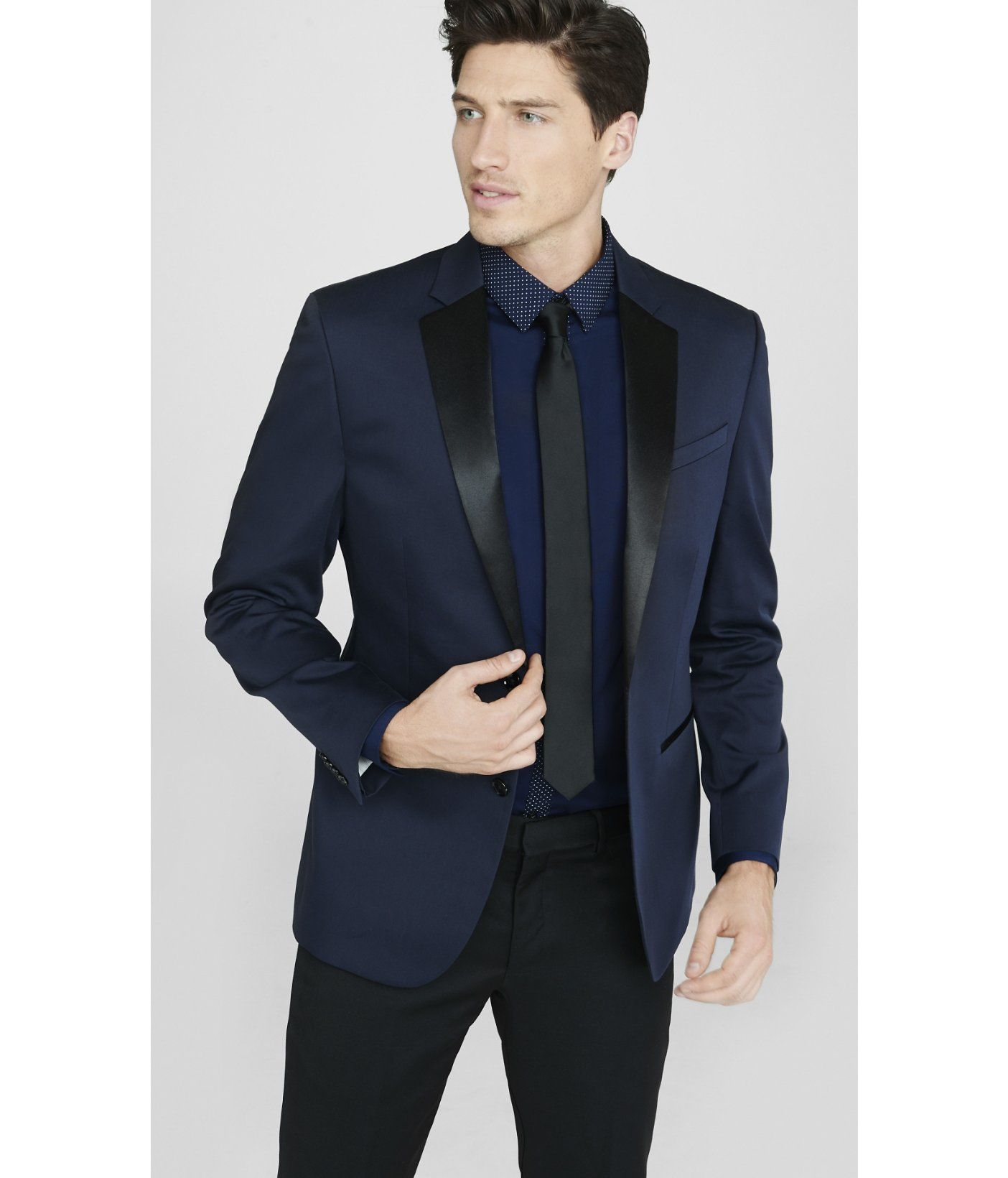 navy blue and black tuxedo - Google Search | Matthew | Pinterest ...