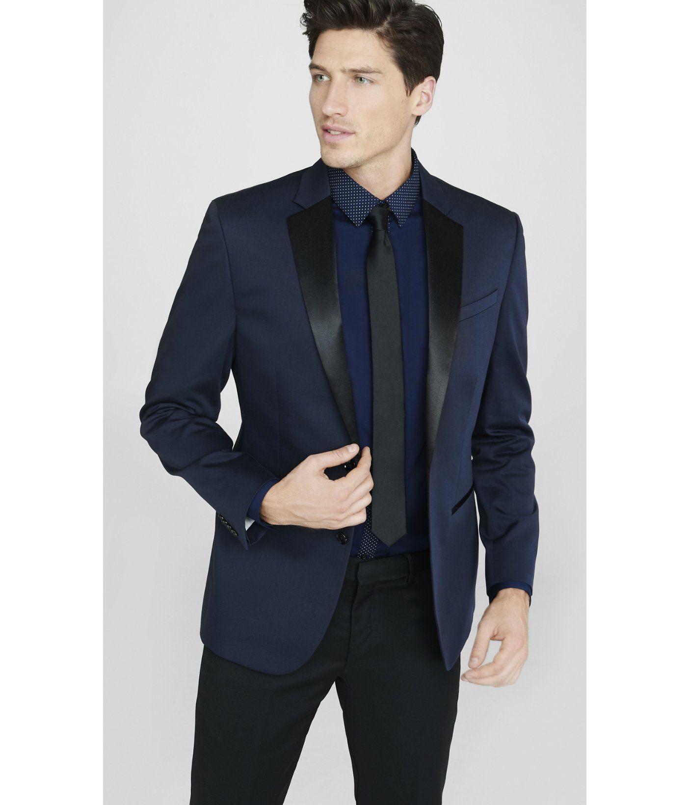 navy blue and black tuxedo Google Search Navy tuxedos