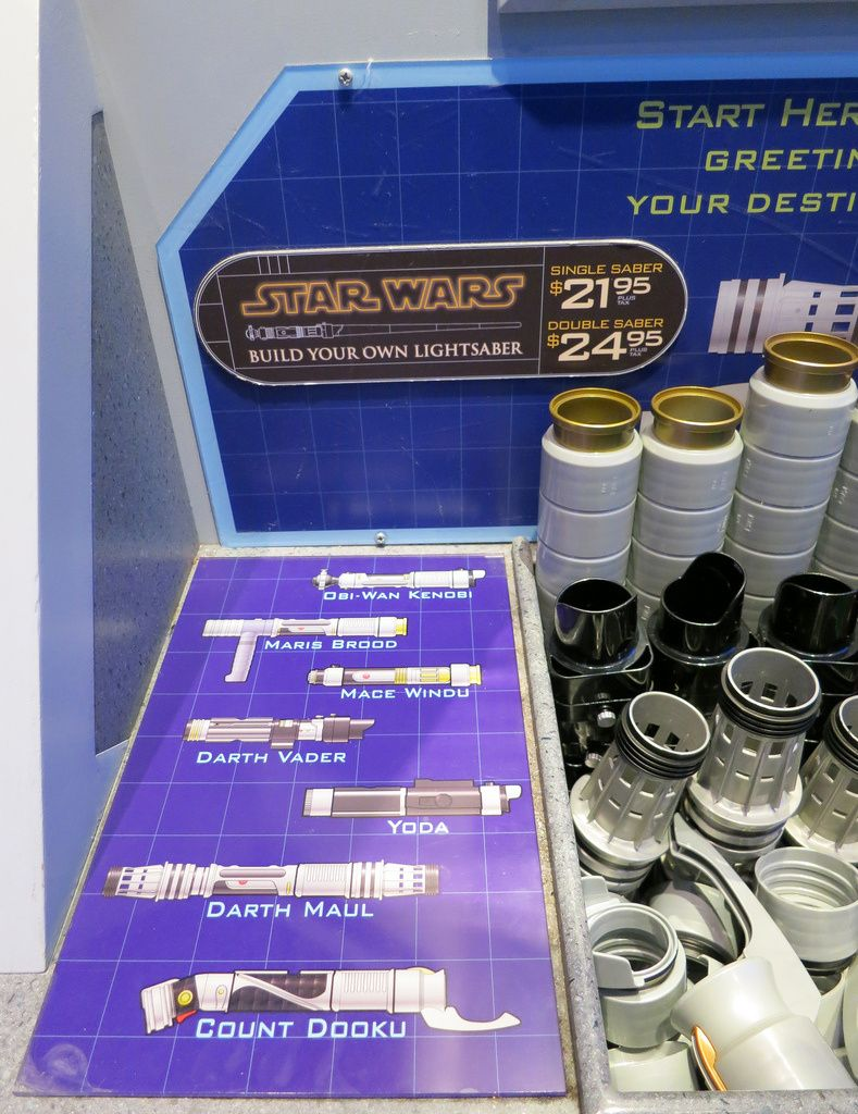 Build Your Own Lightsaber at Disney World  Disney