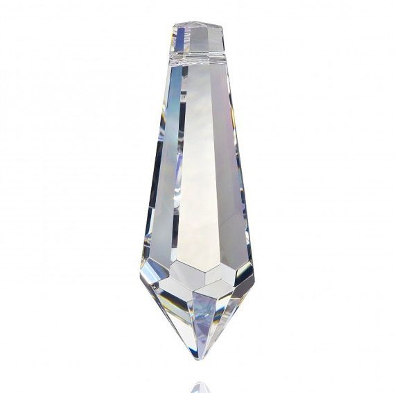 BULK Icicle Chandelier Prisms Crystal Spear Cut Pendant Wholesale - Glass chandelier crystals bulk