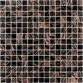 Elida Ceramica Tiger Eye Gl Mosaic Square Indoor Outdoor Wall Tile Common 13 In X Actual 12 75