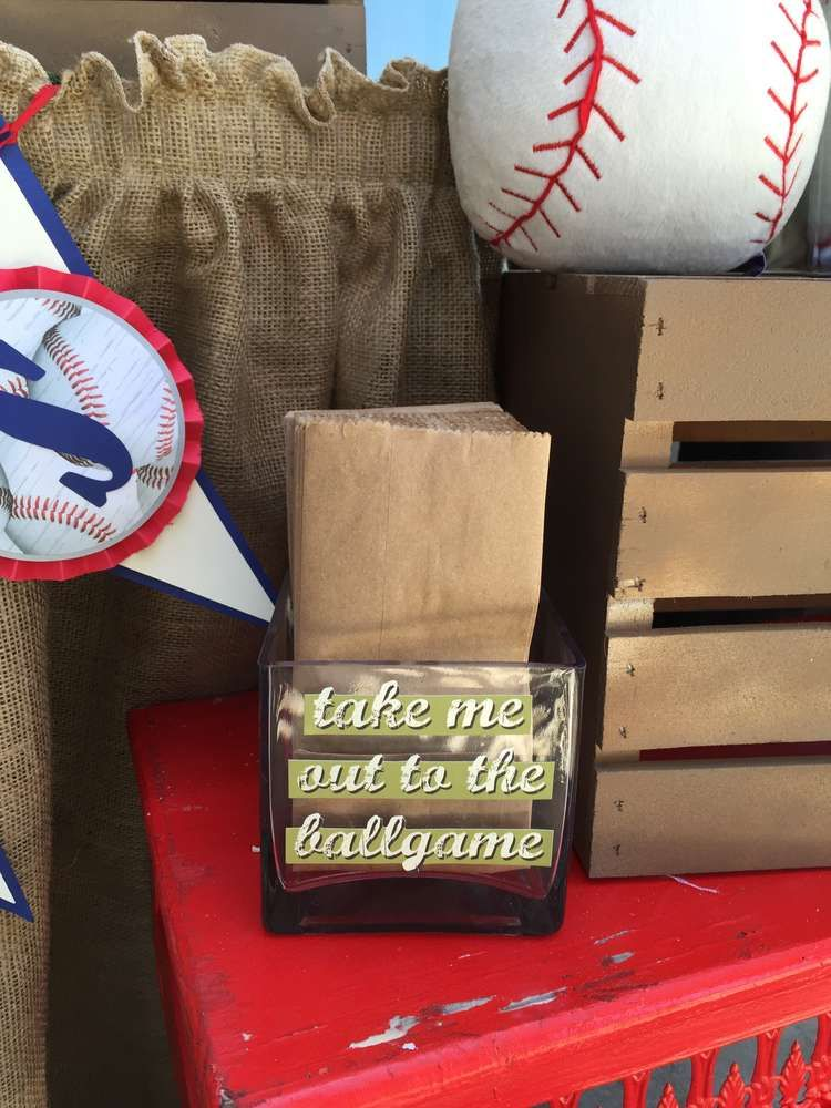 Baseball Baby Shower Party Ideas | Photo 8 of 18 | Catch My Party