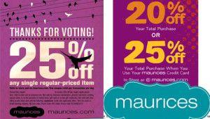 Maurices Coupon Printable Maurices Coupon Code Maurices Coupons Maurices Clothing Coupons