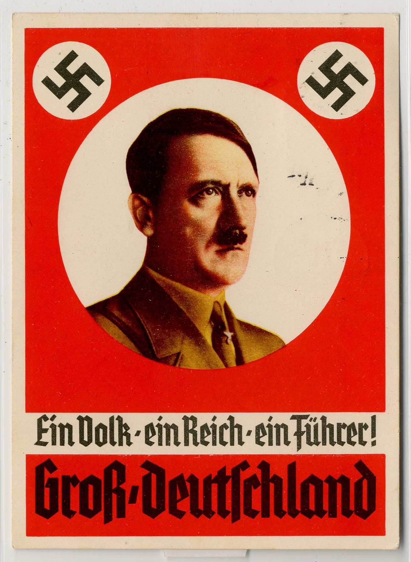 "Image result for ""Ein Volk, Ein Reich, Ein Fuhrer!"" propaganda poster"