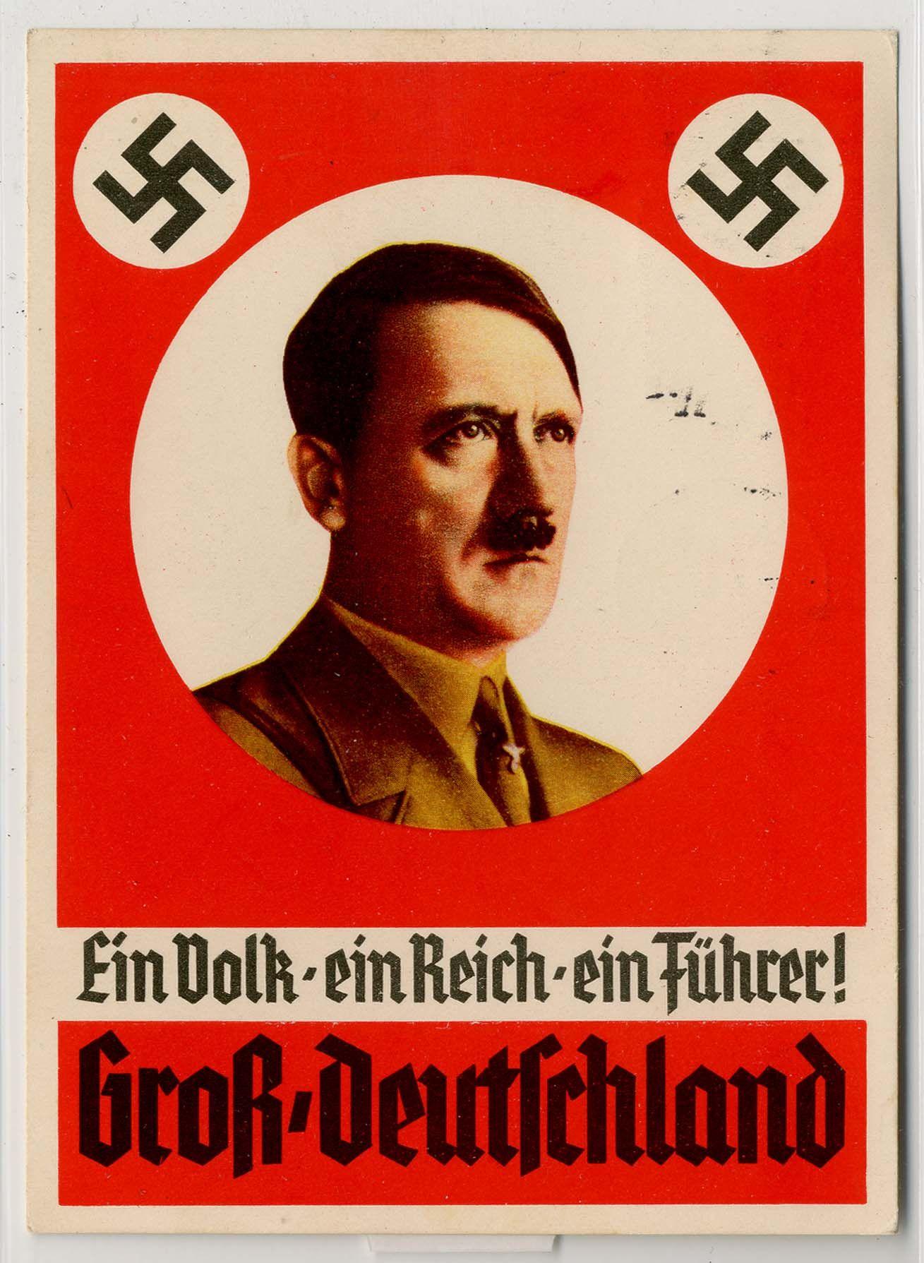 """Image result for """"Ein Volk, Ein Reich, Ein Fuhrer!"""" propaganda poster"""