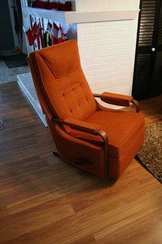 lazy boy chairs for sale red oversized chair vintage mid century danish modern la z rocker recliner rocking 50s 60s | ebay une ...