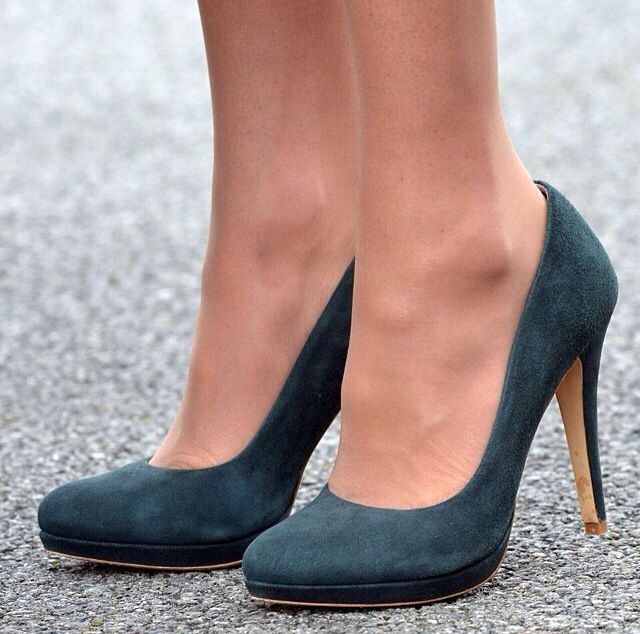 Green suede for St. Patrick's day via Kate Middleton.