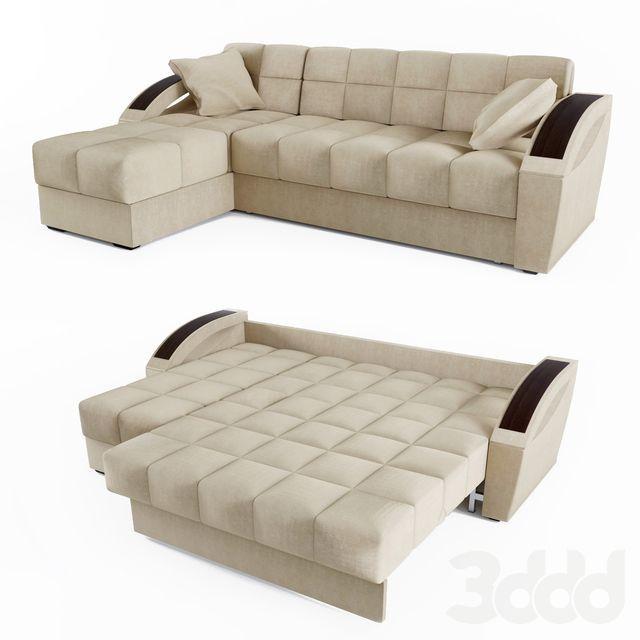 Corner sofa bed Montreal - HOFF #CornerSofa | Decorando el hogar ...
