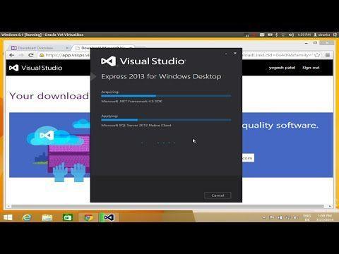 visual basic 2013 download full