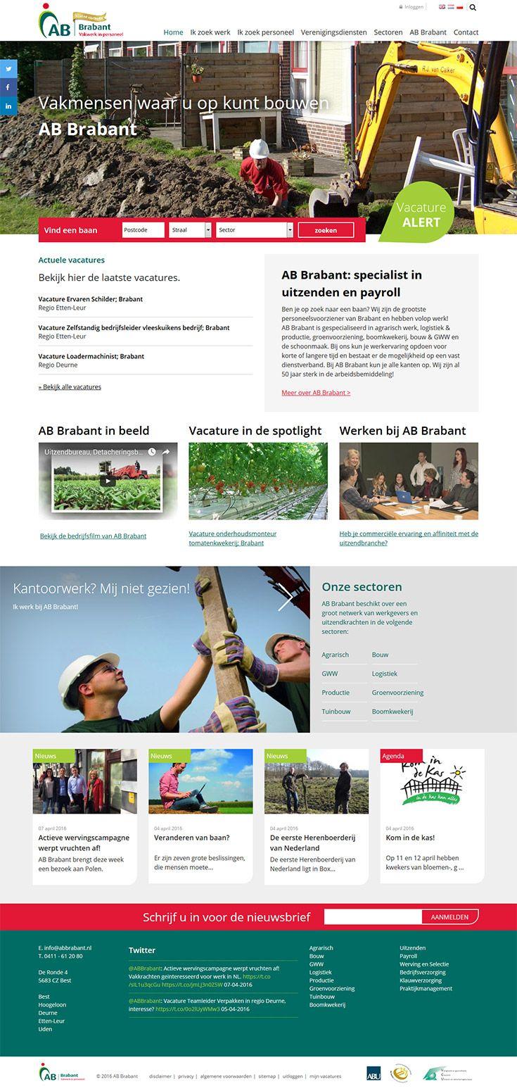 Webdevelopment En Webdesign Voor ABBrabant Finetic