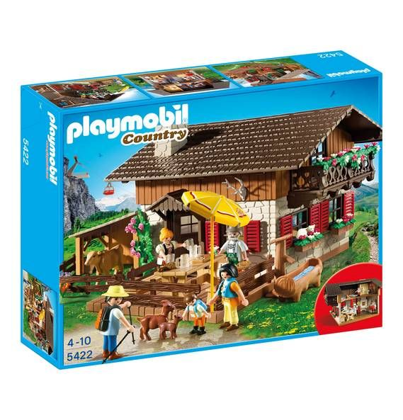 playmobil almh tte 5422 wies n playmobil spielzeug. Black Bedroom Furniture Sets. Home Design Ideas