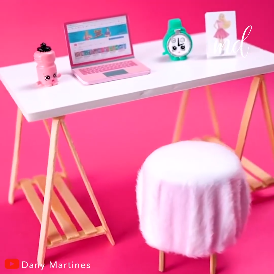DIY DOLL HOUSE #barbiefurniture