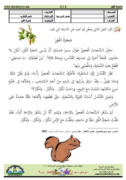 002 الصف الثاني ملفاتي Learn Arabic Online Arabic Alphabet For Kids Learn Arabic Alphabet
