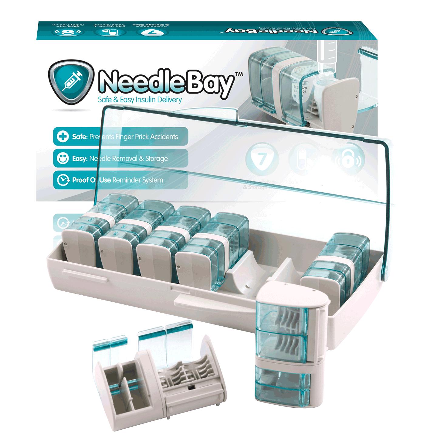 BX/7 NeedleBay 7 Safe Needle and Tablet Storage