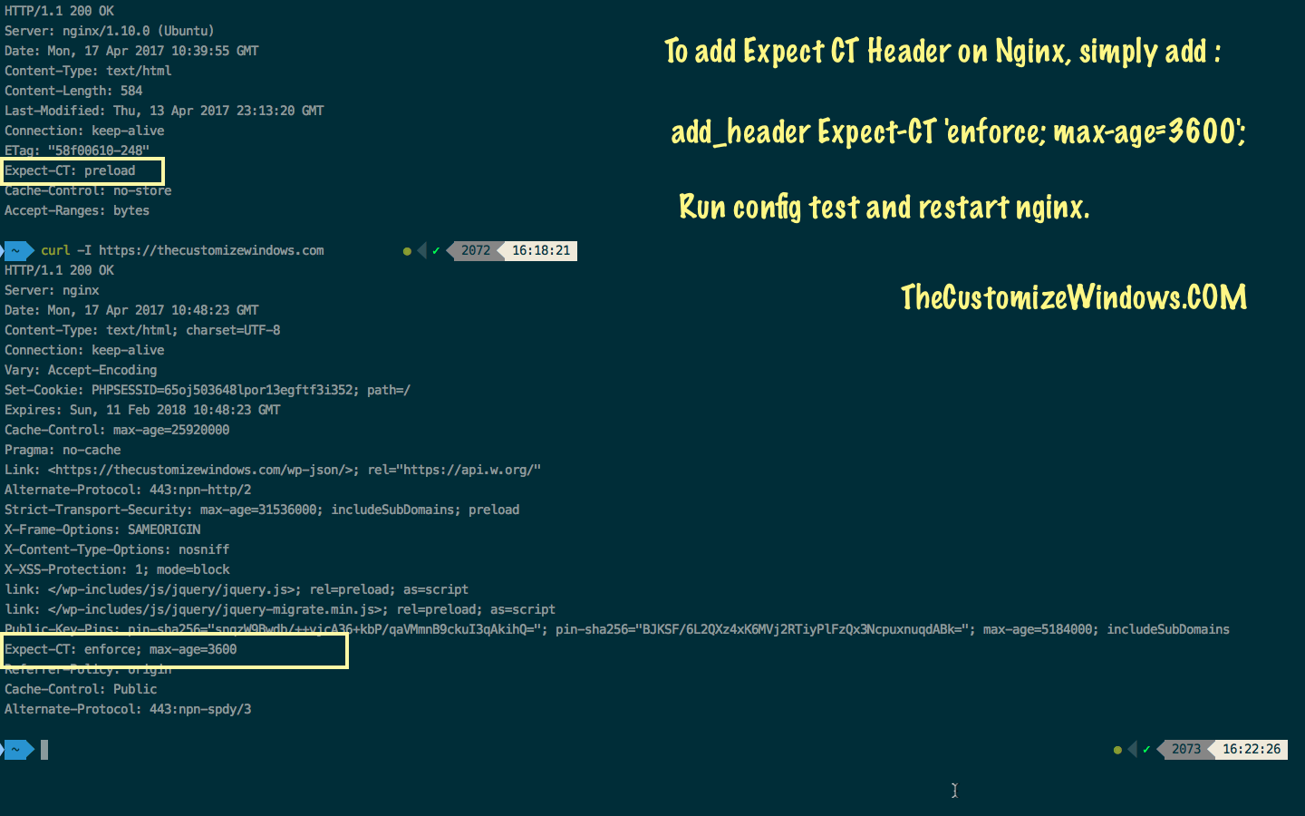 New Security Header : Expect CT Header Nginx Directive   Cloud