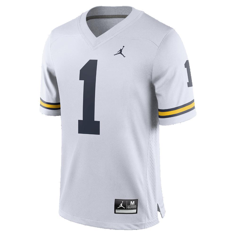 Jordan Football Game (Michigan) Men s Jersey 329ca2183