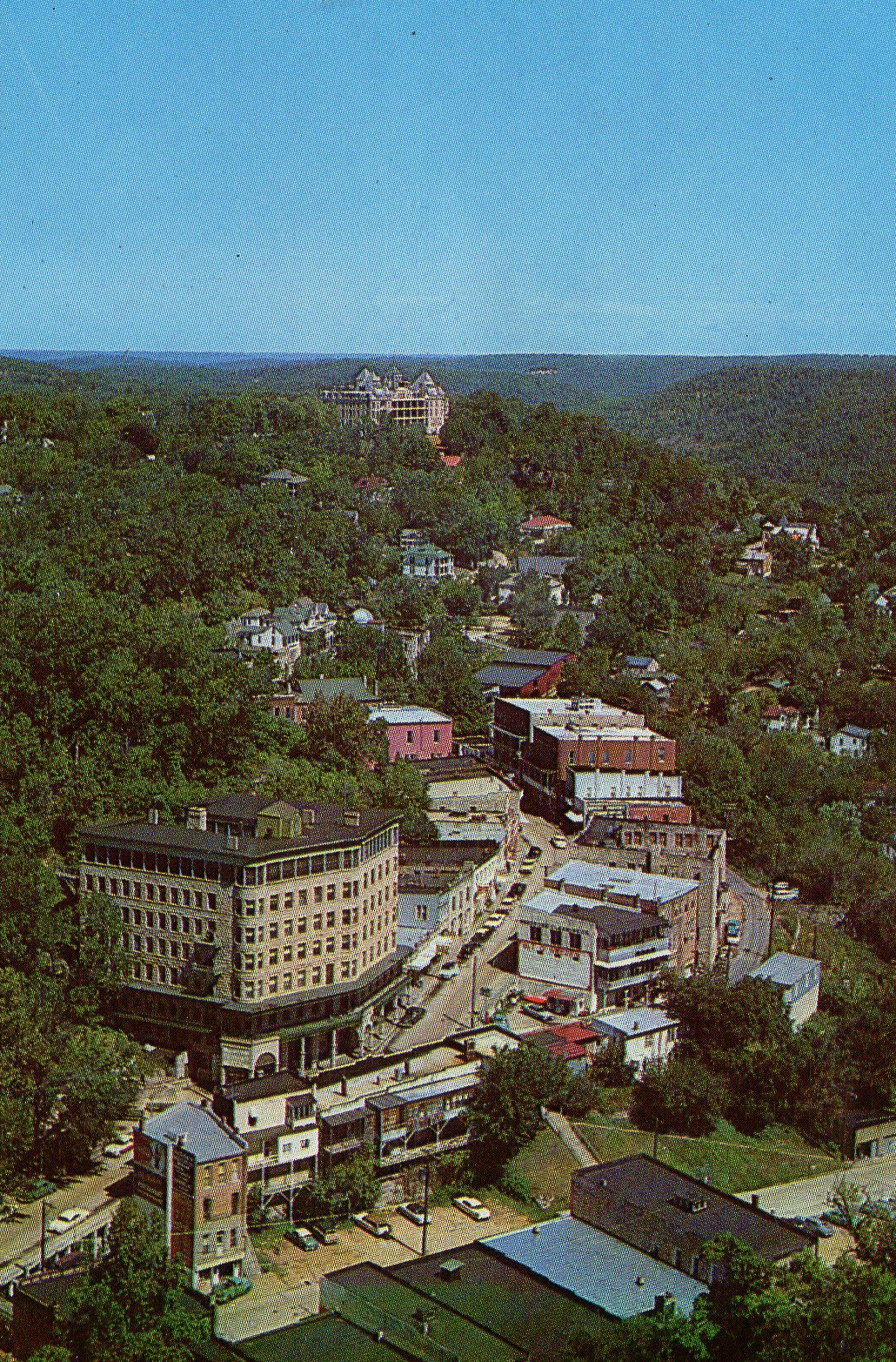 1961 Eureka springs Arkansas postcard. Hagins collection ...