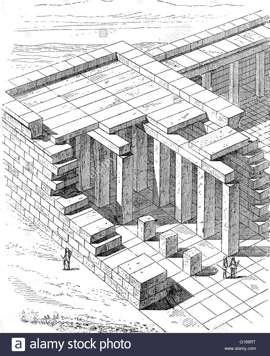 Post And Lintel Is A Simple Construction Method Using A Lintel Header G169rt Jpg 1057 1390 Ancient Egyptian Architecture History Encyclopedia Ancient Egyptian