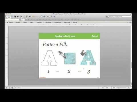 Cricut Print then Cut DEMO - YouTube | Cricut Explore - How-to's