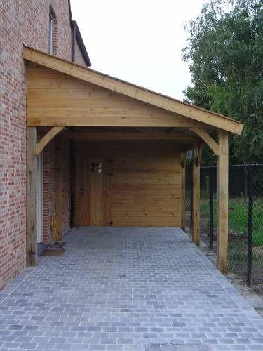 Carports - garages | Goeminne Tuinhout | Landelijk wonen | Pinterest ...
