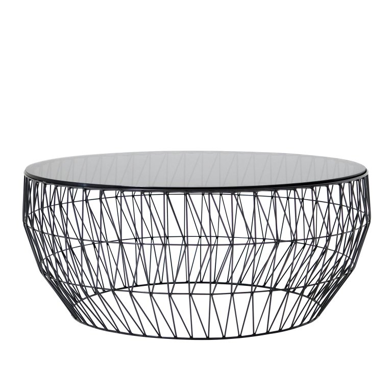 Wire Round Coffee Table By Bend Goods