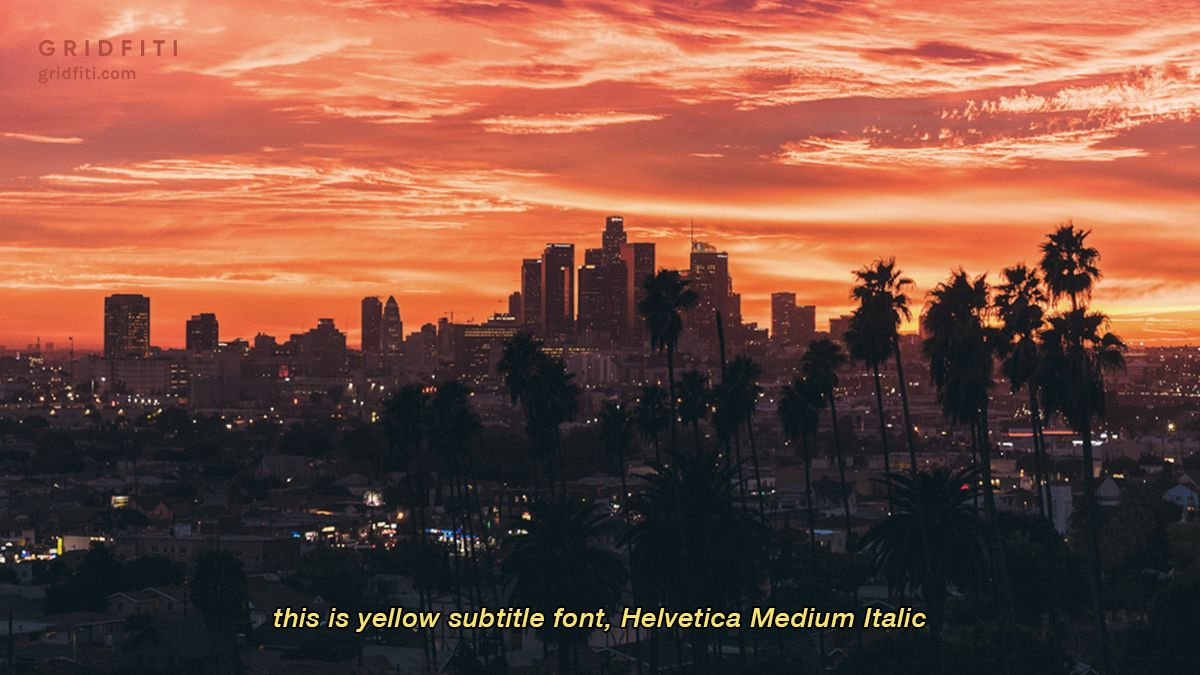 Vintage Yellow Subtitle Font Most Aesthetic Text In 2020 Aesthetic Fonts Aesthetic Fonts