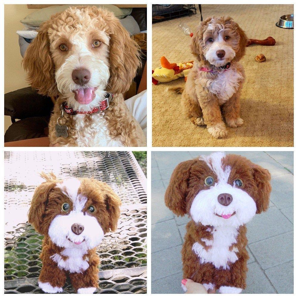 Custom stuffed dog loss gift Stuffed animal look like your