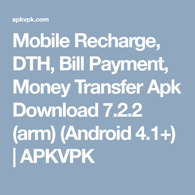 Mobile Recharge, DTH, Bill Payment, Money Transfer Apk Download 7 2