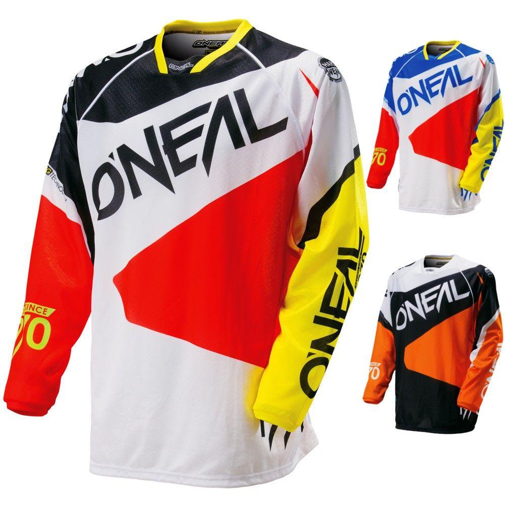 O/'Neal Element Racewear Jersey Motocross MX Enduro DH FR Mountain Bike MTB BMX