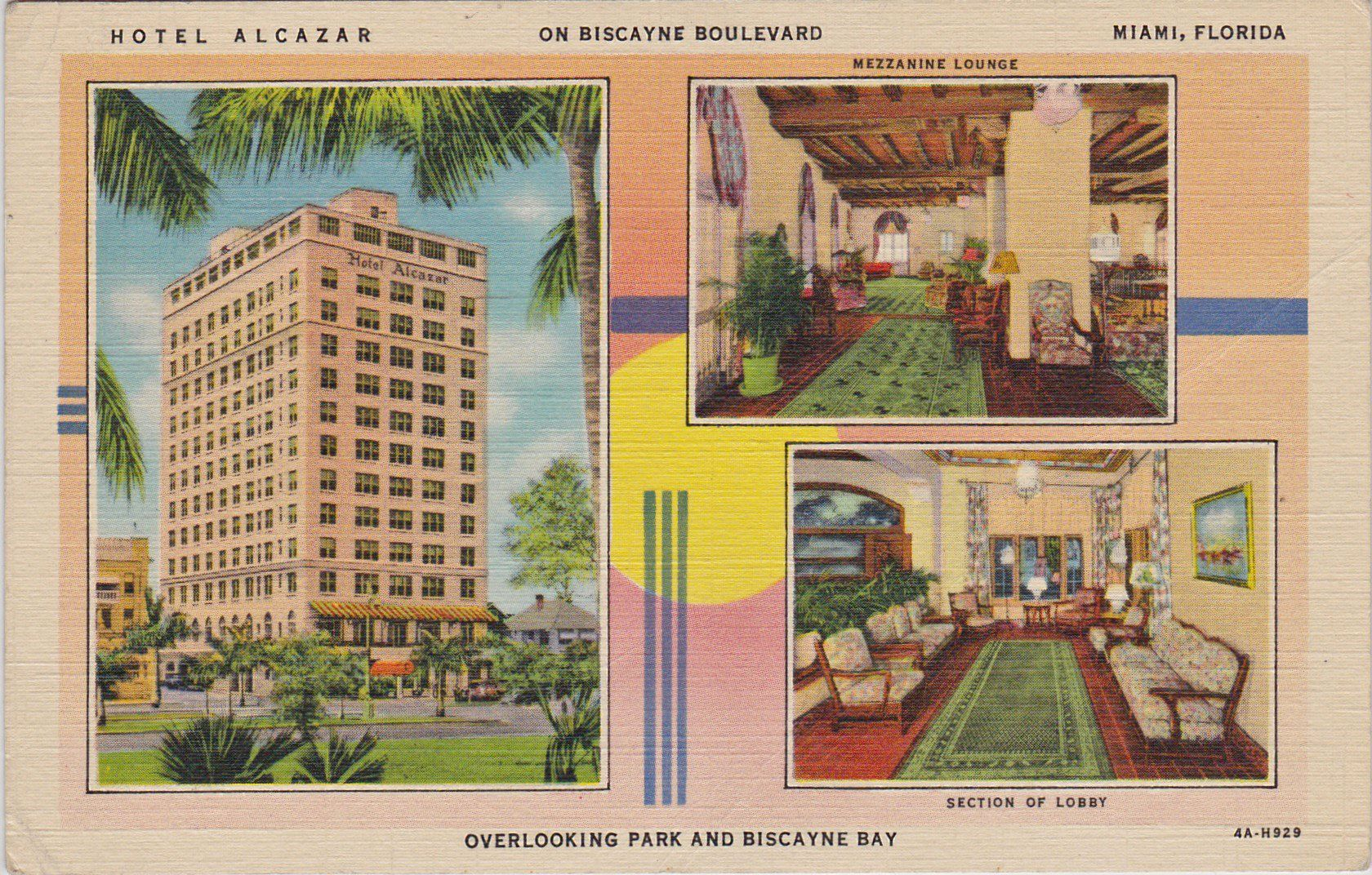 Alcazar Hotel, Biscayne Blvd. at 5th St., Miami, FL, 1934