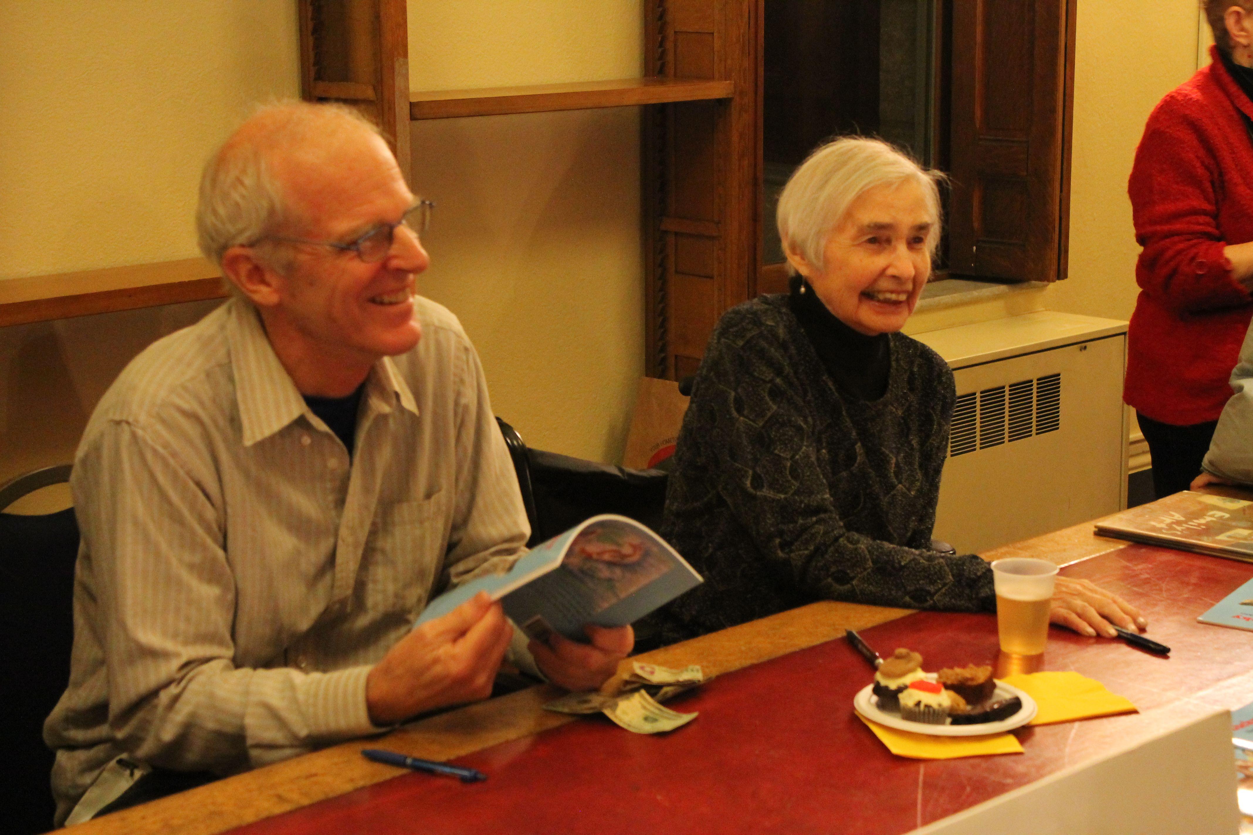 Author Davis Johnson And Illustrator Virginia Midyette At