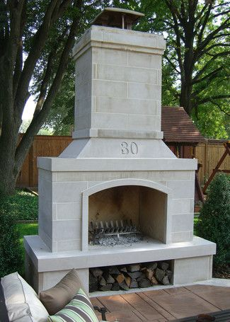 Outdoor Fireplace Kits - Outdoor Fireplaces | Outdoors | Pinterest ...