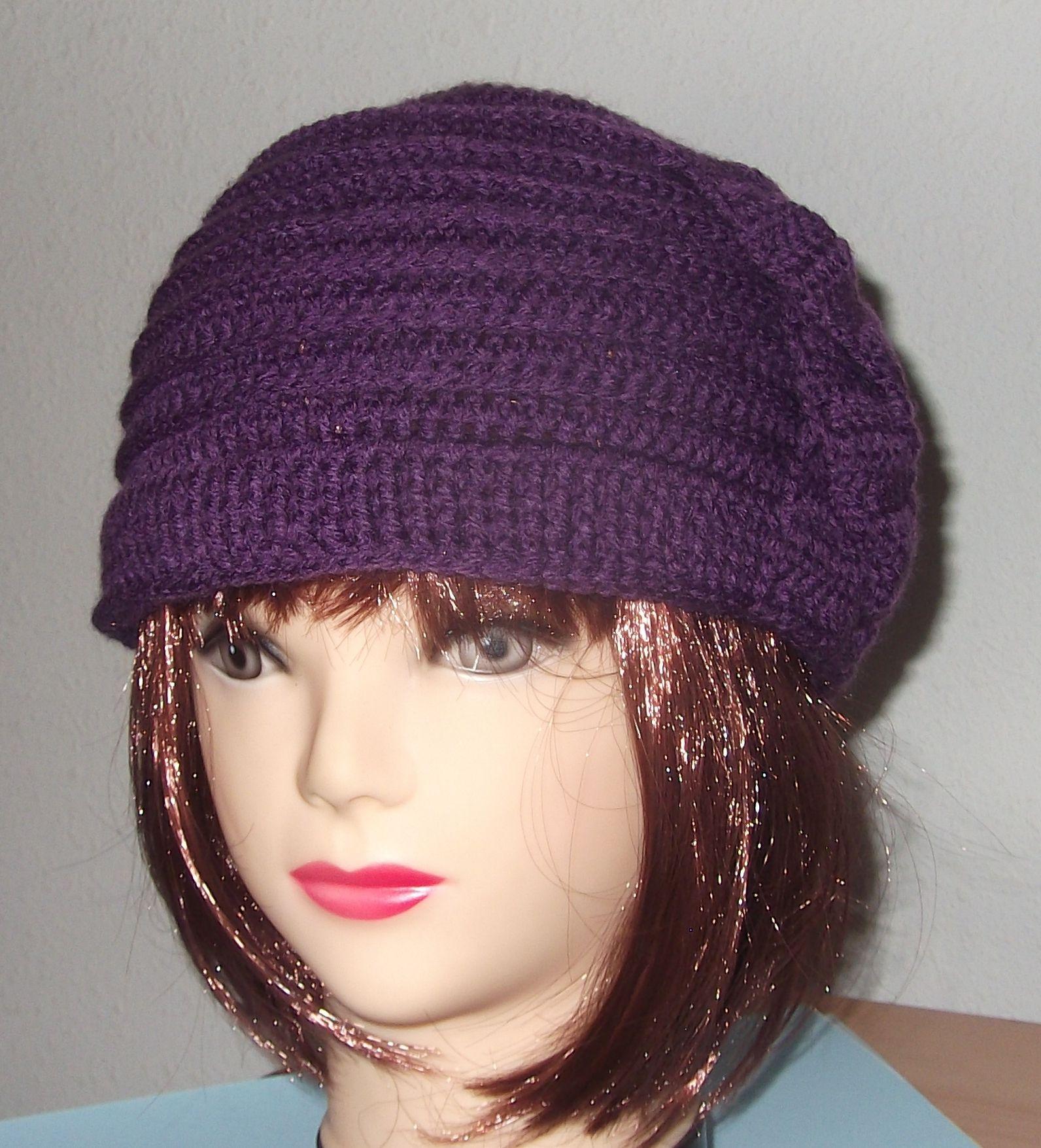 Gorro en crochet http://www.noraccesorios.com