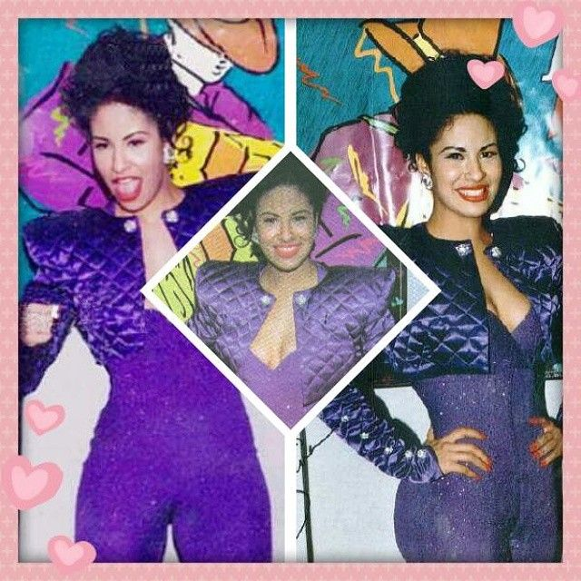 Selena Was Buried In This Purple Outfit She Wore To The 1995 Tejano