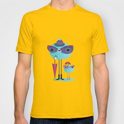 Looks like rain T-shirt by Maria Jose Da Luz - $18.00