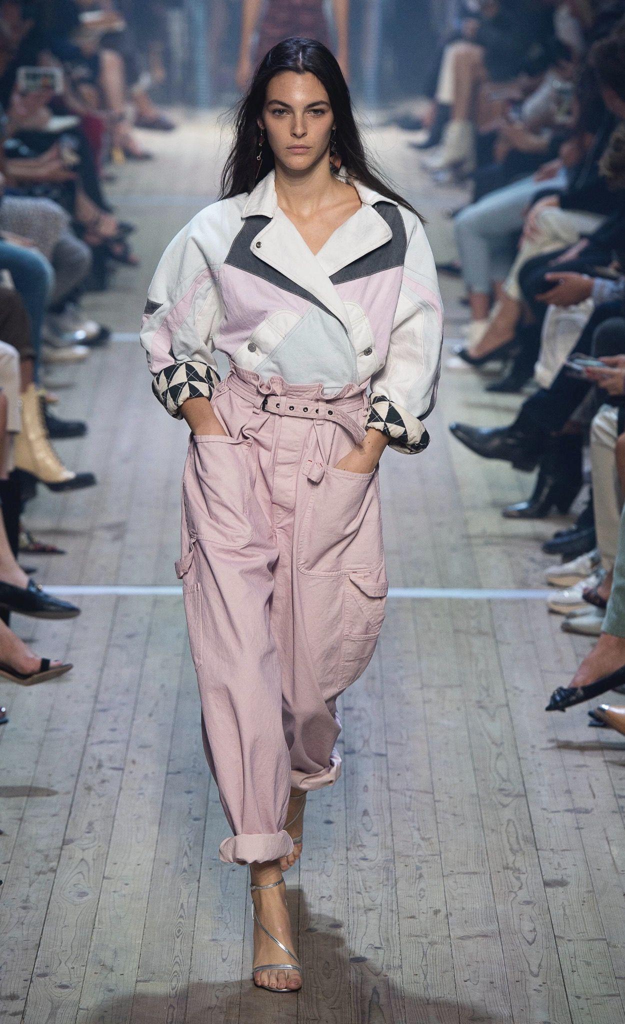 c39589c0d85 Isabel Marant Spring 2019 RTW Spring Fashion Trends, Fashion 2018 Trends, Women's  Summer Fashion
