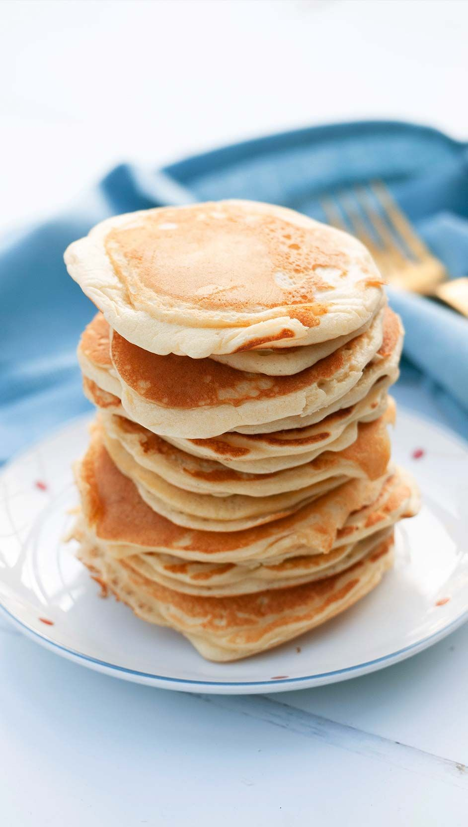 Simple pancakes - delicious! -  Simple, fast pancakes that also taste really good – what more could you want? Create a special br - #buttermilkpancake #delicious #pancakehealthy #pancakes #simple