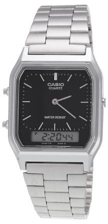 Casio AQ-230A-1DMQYES Combi Bracelet Watch