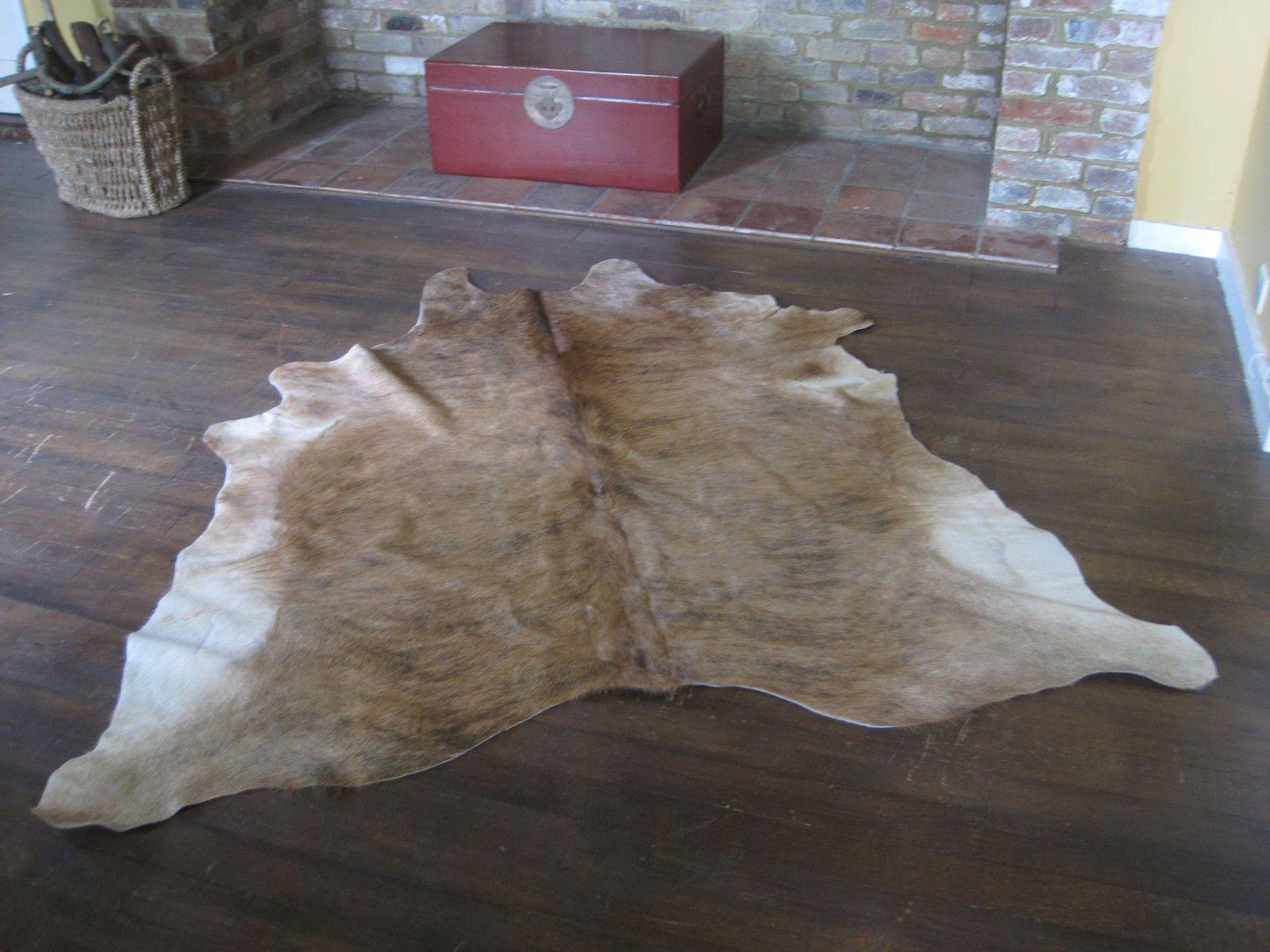 Cow Hide Tan Skin Rug South American