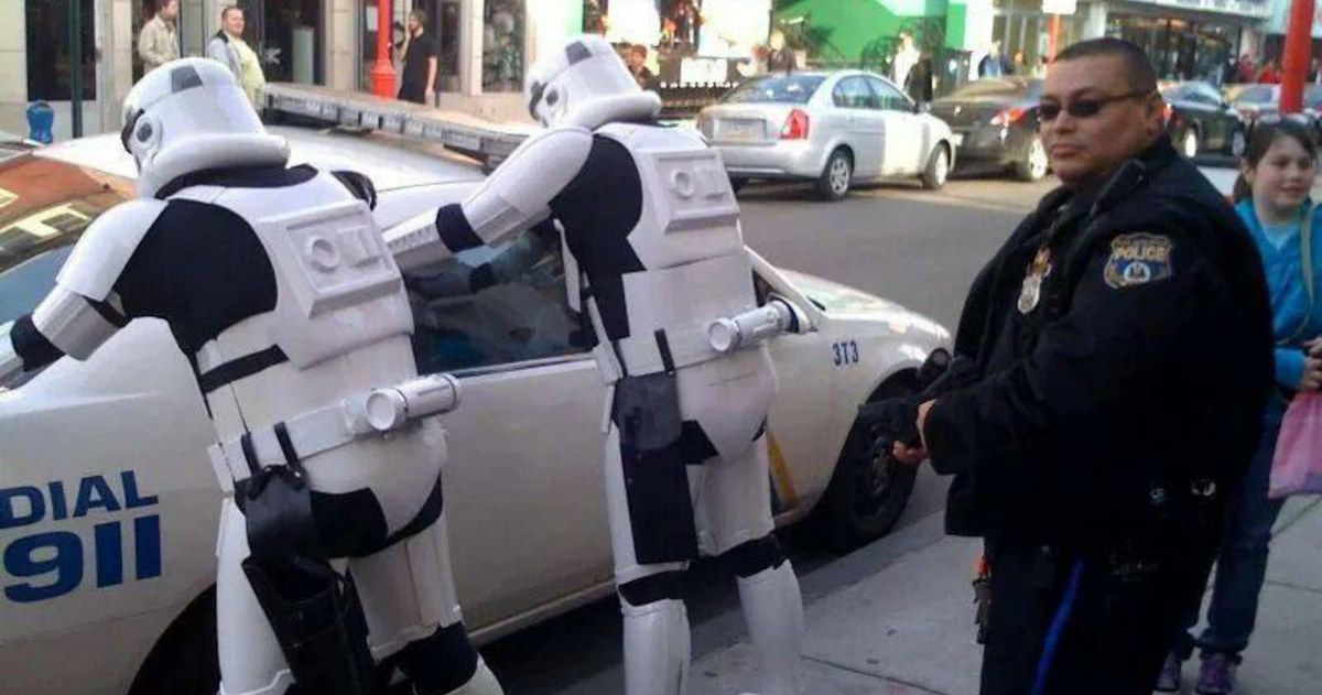 Some Police Think Leaking 'Star Wars 7' Spoilers Should Be