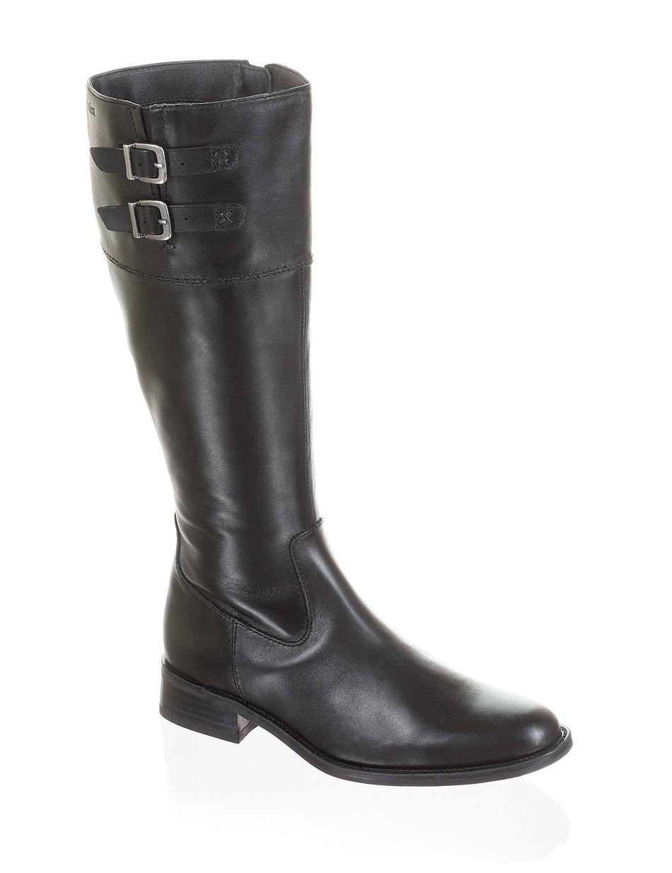 Fraiche Glattleder-Stiefel schwarz   Stiefel   HUMANIC Schuhe Online Shop    1-62-37-1150-0 f9d48e2817
