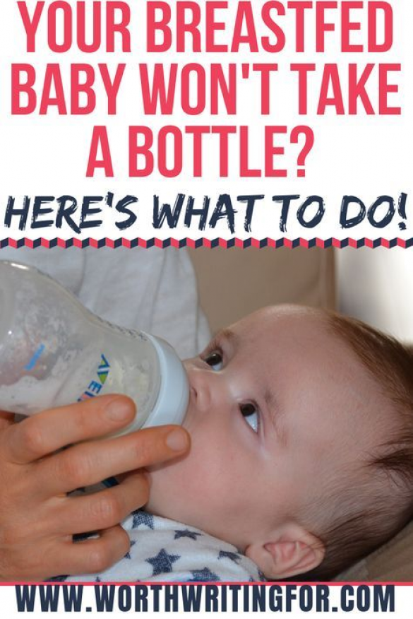How To Get Breastfed Baby To Drink From Bottle