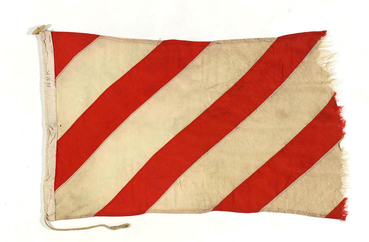 House flag, Orkney Steam Navigation Co. - National Maritime Museum ...