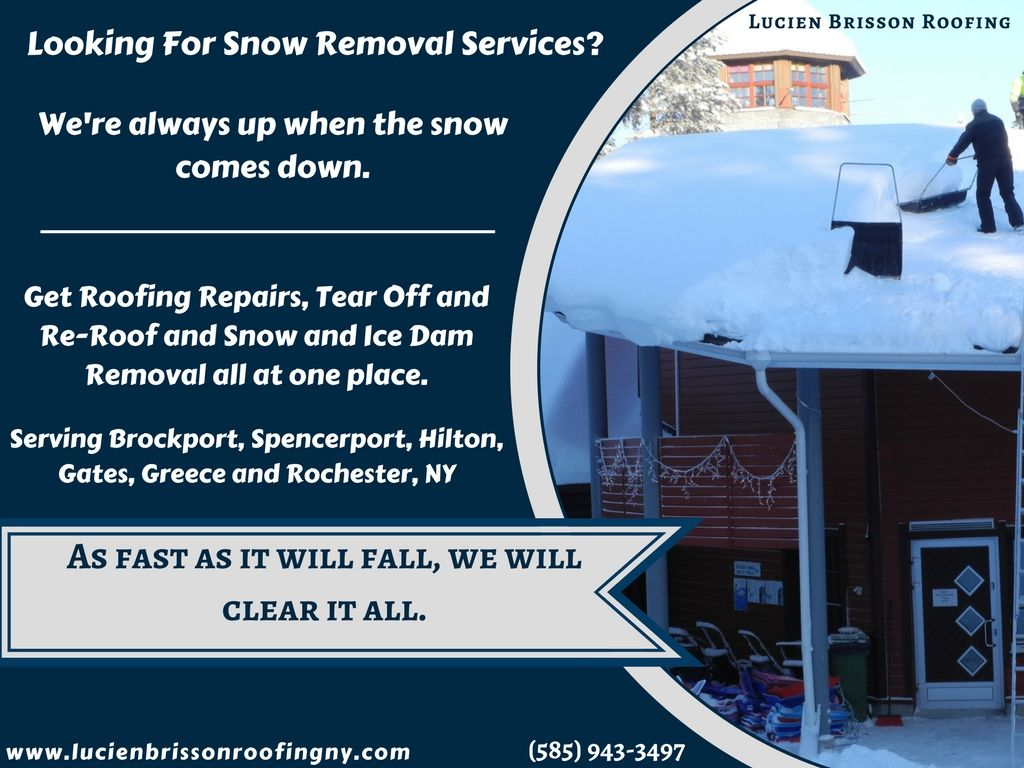 We Have A Reputation As An Honest Reliable And Experienced Snow Removal Company Our Attention To Detail Quality Workmansh Snow Removal Roof Repair Roofing