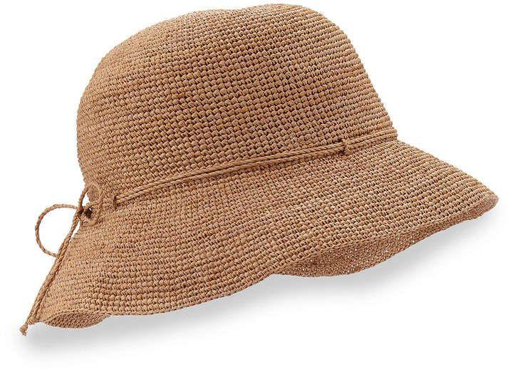 75712eefad59ee Helen Kaminski Provence 8 Brim Raffia Hat Nougat | Where to buy ...