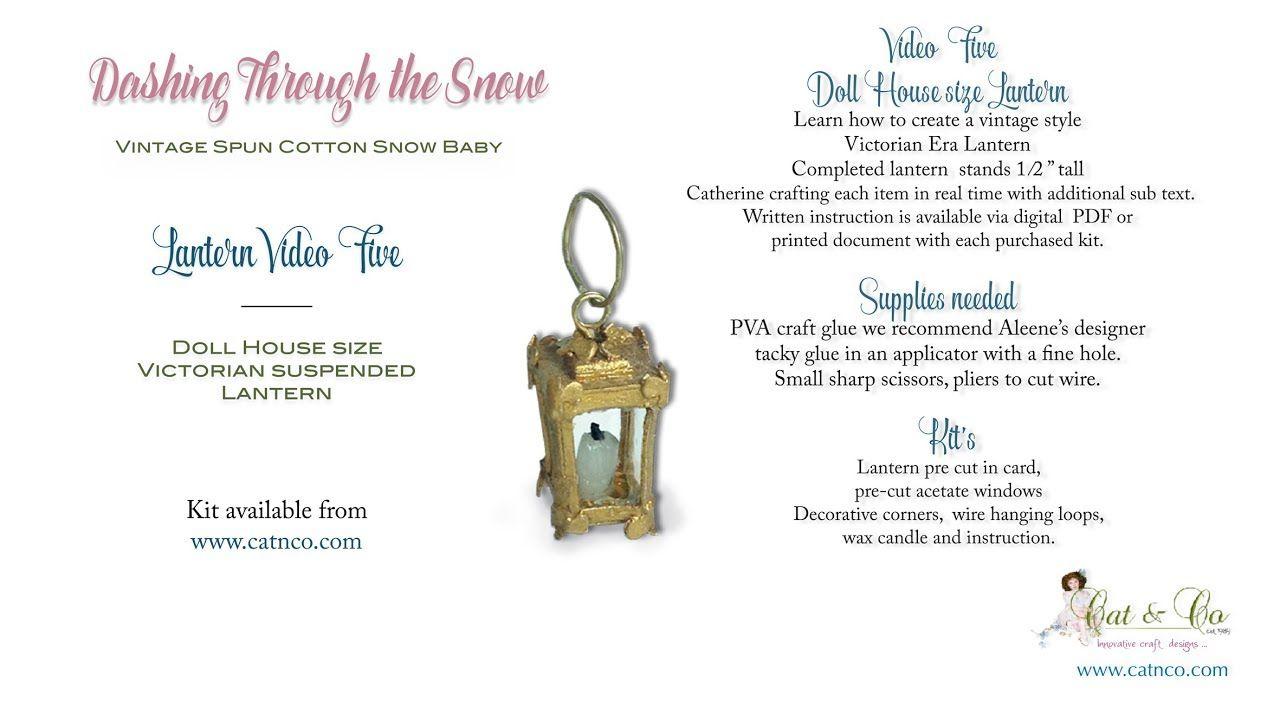 Lantern Kit Sled Youtube Miniatures Pinterest Dolls House Wiring Sleddoll Houseslanternsminiatureslead