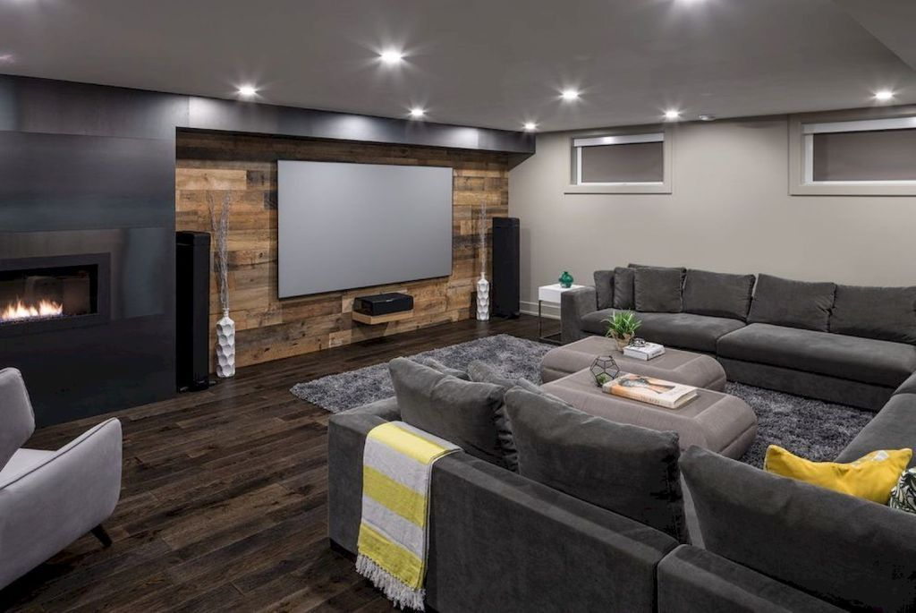 Superb Basement Home Theater Concepts #mancavebasement