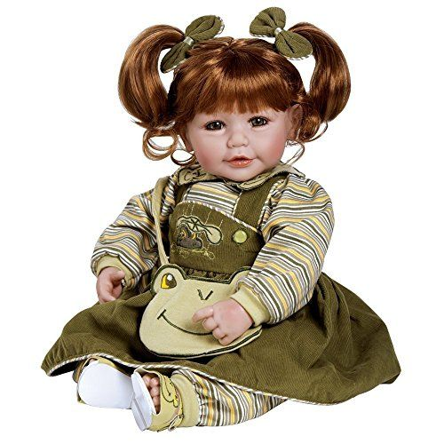 Adora 20 inches Baby Doll Froggy Fun Red Hair/Green Eyes ... http://www.amazon.com/dp/B0042P6KSU/ref=cm_sw_r_pi_dp_hYGsxb0W06DE5