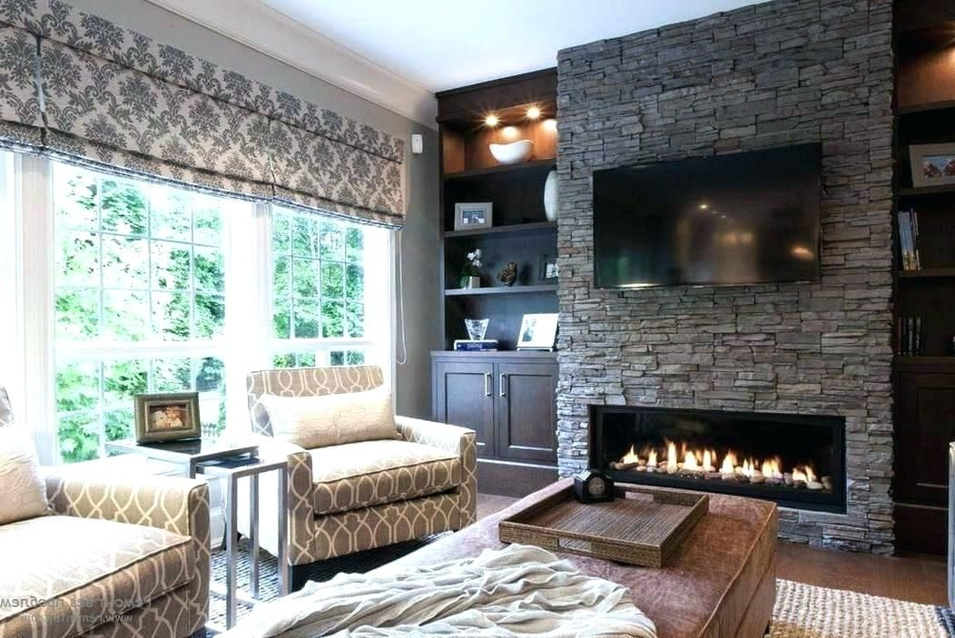 Stone Fireplace Ideas With Tv Stone Wall Fireplace Ideas Elegance